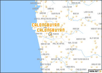 map of Calongbuyan