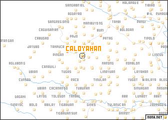 map of Caloyahan