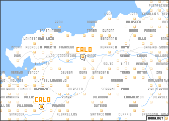 map of Calo