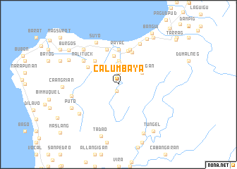 map of Calumbaya