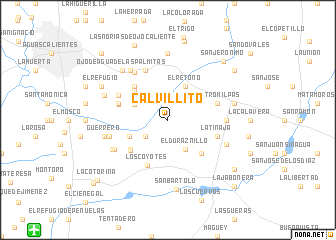 map of Calvillito