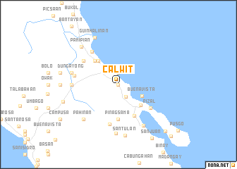 map of Calwit