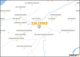 map of Calzones