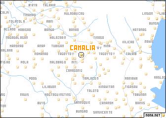 map of Camalia