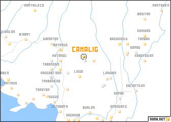 map of Camalig