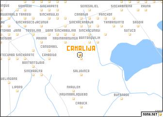 map of Camalijà
