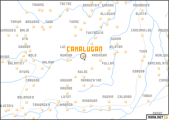 map of Camalugan
