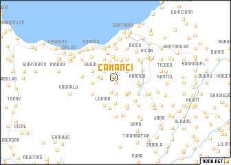 map of Camanci