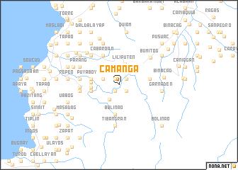 map of Camanga