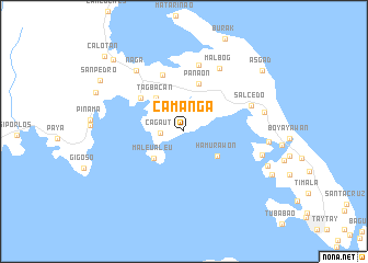 map of Camanga