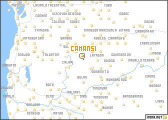 map of Camansi