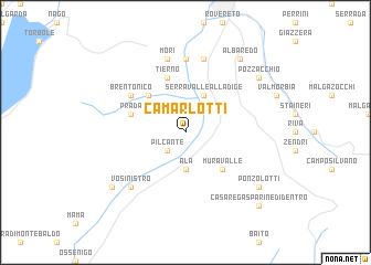 map of Camarlotti
