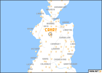 map of Camay