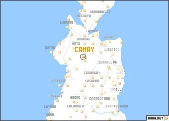 map of Camay