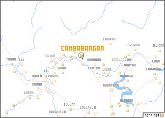map of Cambabangan