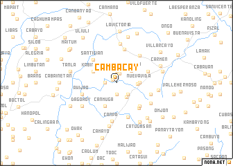 map of Cambacay