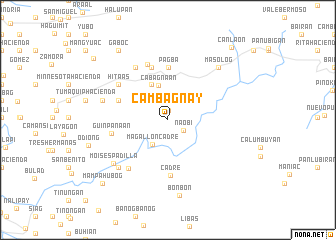 map of Cambagnay
