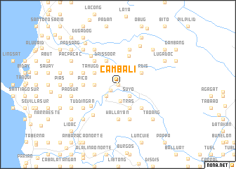 map of Cambali
