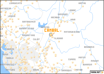 map of Cambal