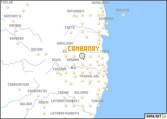 map of Cambanay