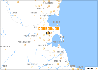 map of Cambanjao