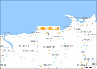 map of Cambarsilu