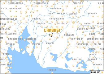 map of Cambasi