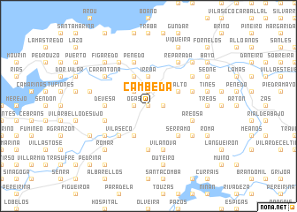 map of Cambeda
