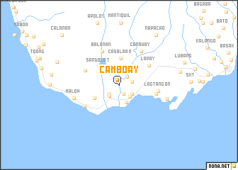map of Camboay