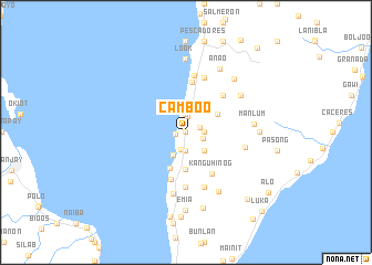 map of Camboo
