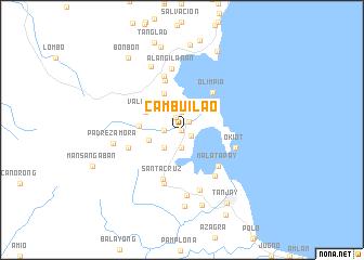 map of Cambuilao