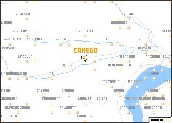 map of Camedo