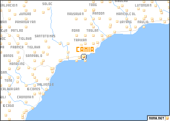 map of Camia