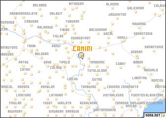 map of Camiri