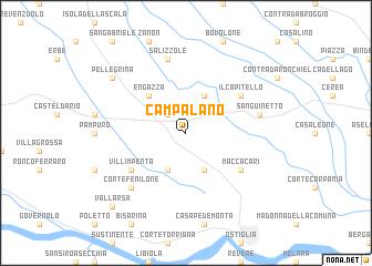 map of Campalano