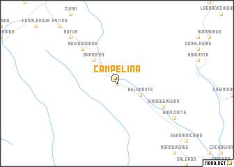 map of Campelina