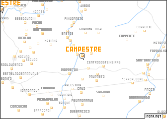 map of Campestre