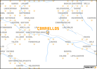 map of Campiellos