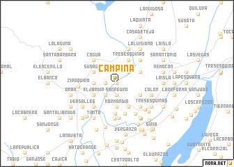 map of Campiña