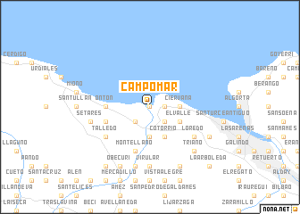 map of Campomar
