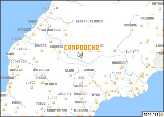 map of Campo Ocho