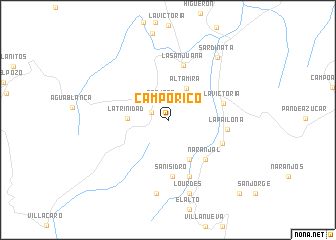 map of Campo Rico