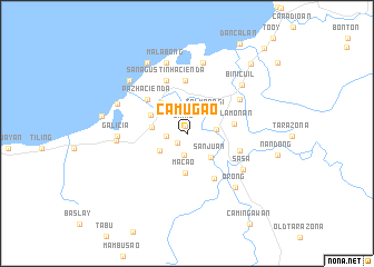map of Camugao