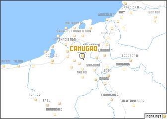 map of Camugao