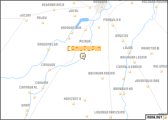 map of Camurupim