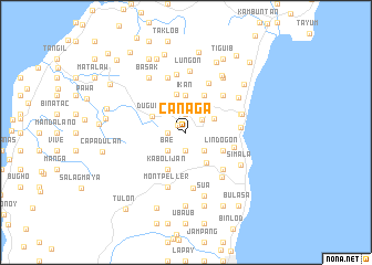 map of Can-aga