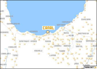 map of Canal