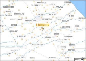 map of Canaxır
