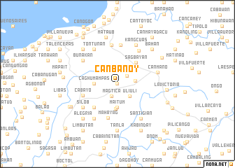 map of Canbanoy