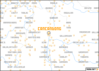 map of Cancandong